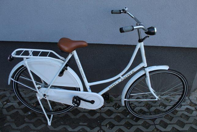 """Rower miejski HOLLANDIA CLASSIC, 57 cm, Koła 28"""", Jak Nowy"""