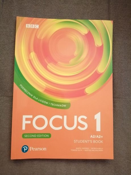 FOCUS 1 second edition A2/A2+ Pearson NOWA