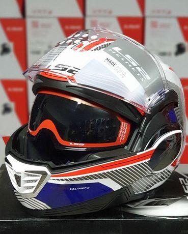 Шлем модуляр LS2 FF900 Valiant мотошлем (LS2.com.ua)