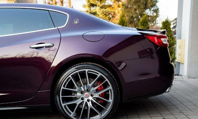 3 Maserati Quattroporte, Nero, Bianco, Rosso, samochód auto do ślubu