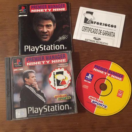 Jogo PlayStation 1 Premier Manager ninety nine 99 -PS1