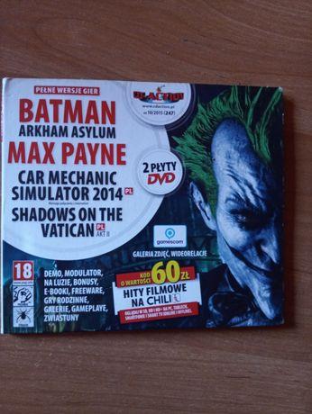 Sprzedam dwie gry Batman Arkhan Asylum oraz Max Payn