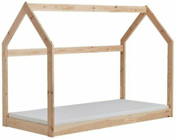 Łóżeczko domek Łóżko domek Łóżko dziecięce PROMOCJA 140x70