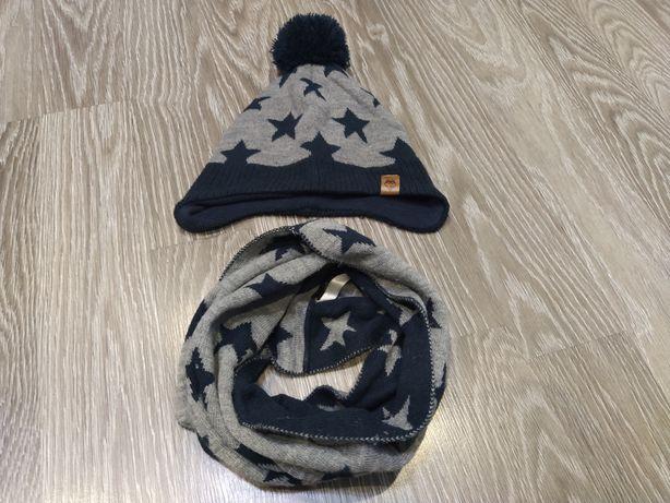 Zestaw H&M czapka + komin