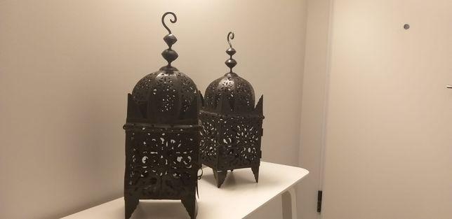 Lanternas de velas Marroquinas