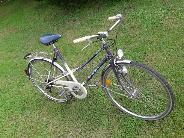 Damka rower miejski duże koła 28cali aluminium SPRAWNY