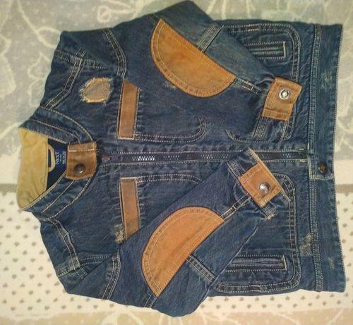 Куртка Next джинс Деми мальчику 4-5 лет