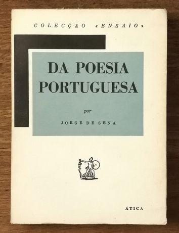 da poesia portuguesa, jorge de sena, ática