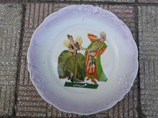 Stary talerz kolekcjonerski Polonez Wałbrzych