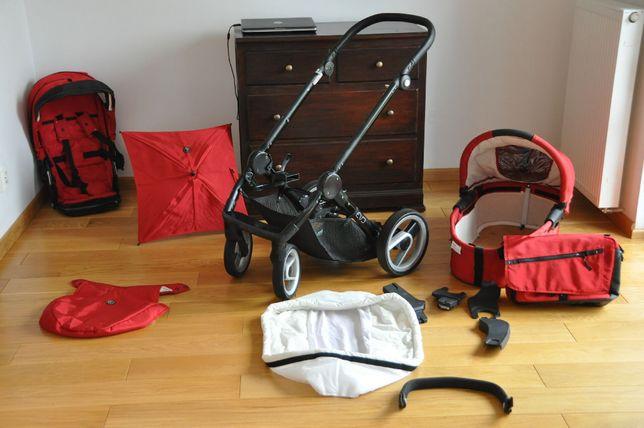 Wózek Mutsy EVO 2X1 Wykonany został z najwyższej jakości materiałów.
