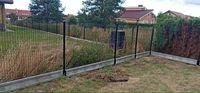 Ogrodzenie panelowe panele ogrodzeniowe słupki producent