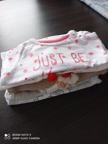 Ubranka dla dziewczynki rozm 62