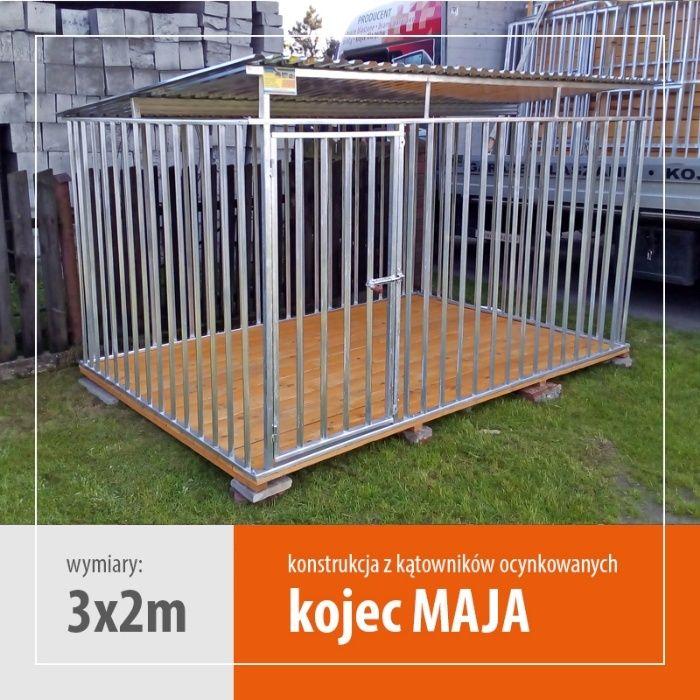 Kojec dla psa MAJA 3x2 kojce dla psów klatki legowiska boksy WYPRZEDAŻ Bielsko-Biała - image 1