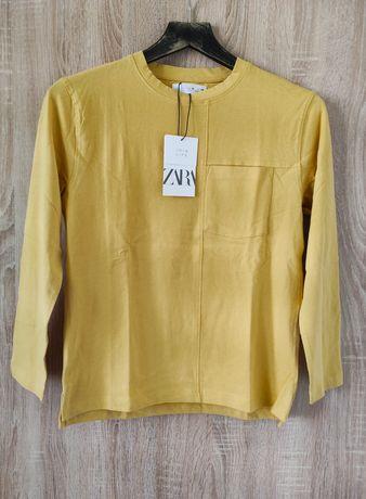 Bluzka z przeszyciami Zara, nowa, r. 140