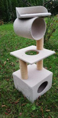 Drapak domek dla kota