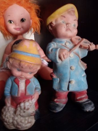 Bonecos antigos para colecionadores
