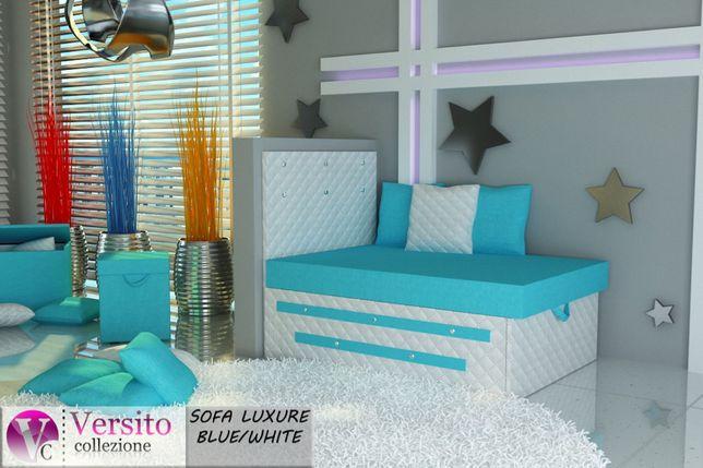 Łóżko dla dziecka,fotel rozkładany z pojemnikiem,Kryształki