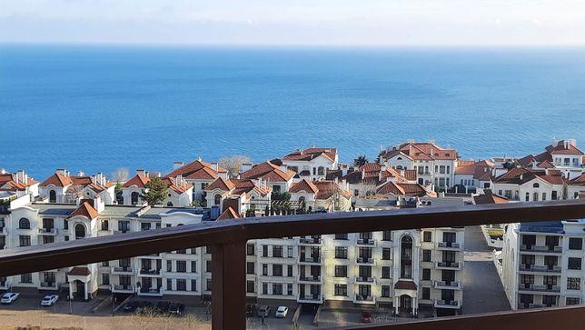 Аркадия,шикарный вид моря,терраса,Французский бульвар,паркинг,посуточн