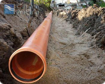 Копання каналізації вручну