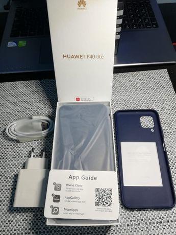 Huawei P40 LIte 2020 - stan bardzo dobry - etui
