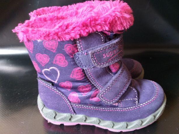 Зимние ботинки Superfit р.24 стелька 15 см