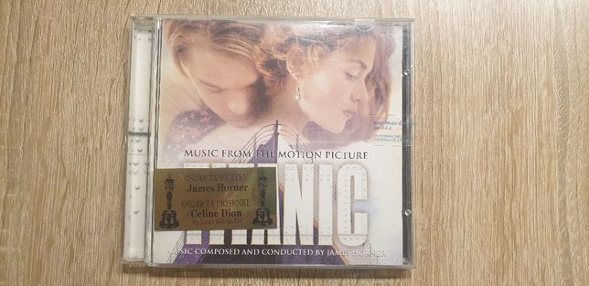 Titanic_Music From The Motion Picture_Płyta CD_Oryginał (hologram)