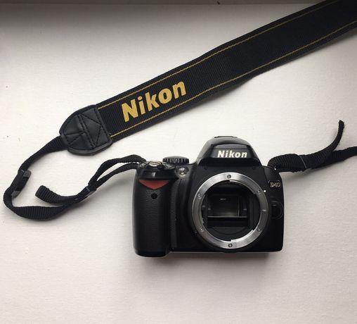 Фотоаппарат Nikon D40 KIT AF-S DX 18-55G II Black