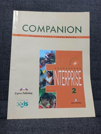Książka do nauki języka angielskiego companion Enterprise 2