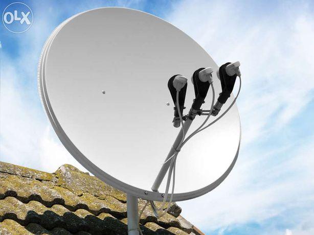 Ремонт супутникових антен, Т2. Підключення Віасат. Прошивка ресіверів