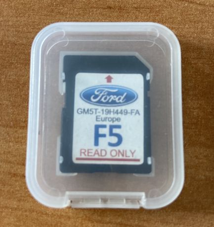 Mapy Europa Ford Focus Mondeo F5