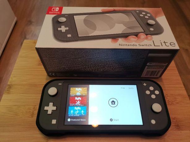 Praktycznie nowe Nintendo Switch Lite + Etui Spigen + Szkło Hofi WRO