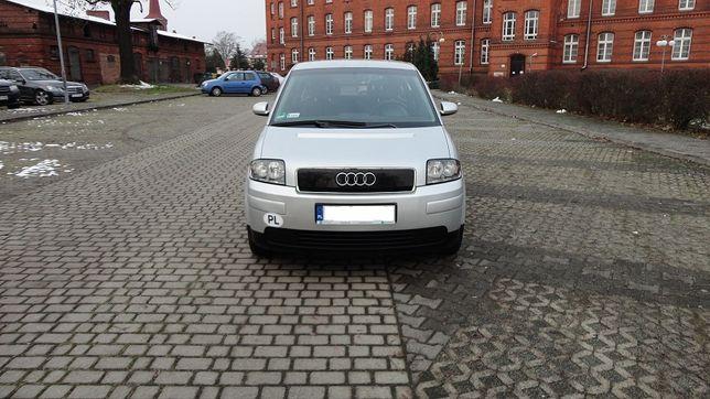 Audi A2 1.6 Benzyna Klima Alufelgi Radio Doinwestowana Super Stan