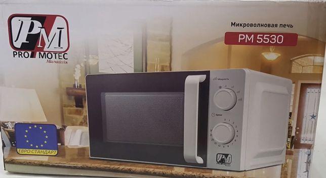 Новая микроволновая печь  Promotec Pm-5530 микроволновка 20 л Малайзия