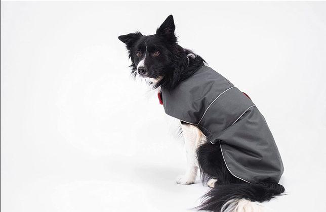 Derka dla psa 50 cm odblaskowa płaszcz border collie ubranko kurtka