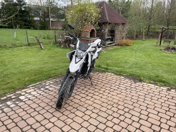 Yamaha wr 125 x 2014 supermoto