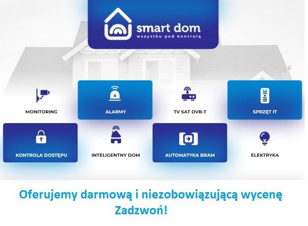 Wideodomofony Kontrola dostępu Napędy do bram Alarmy Monitoring CCTV