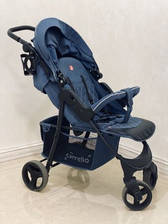 Коляска прогулочная Carrello Quattro CRL-8502/3 Admiral Blue