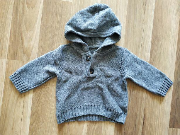 Piękny sweterek sweterek z kapturem h&m