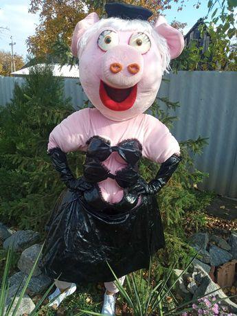 Ростовая кукла Свинка.
