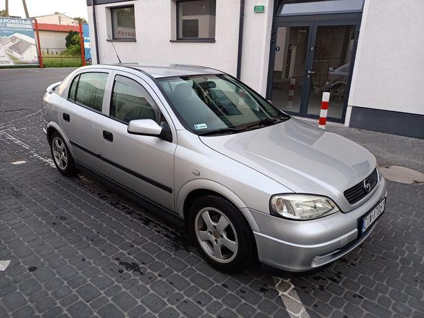 Opel Astra II G 1.6 z gazem rok 2001 ekonomiczne auto
