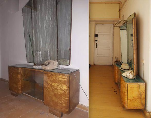 Toaletka z lustrem, zabytkowa, do renowacji. HIT!