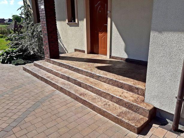 Posadzki żywiczne  - beton stemplowany - mikrocement - kamienne dywany