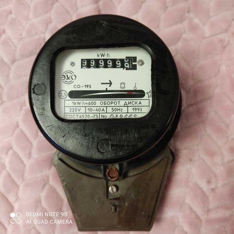 НОВЫЙ счётчик электрический, 400 руб.