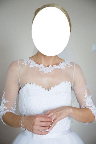Używana suknia ślubna rozmiar 36/38