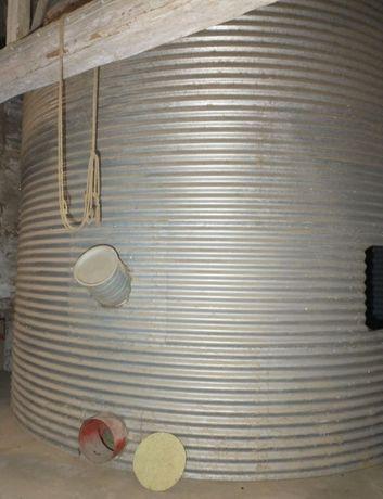 Silos zbożowy o średnicy 4.75m pojemność 60Ton zbiornik na zboże bin