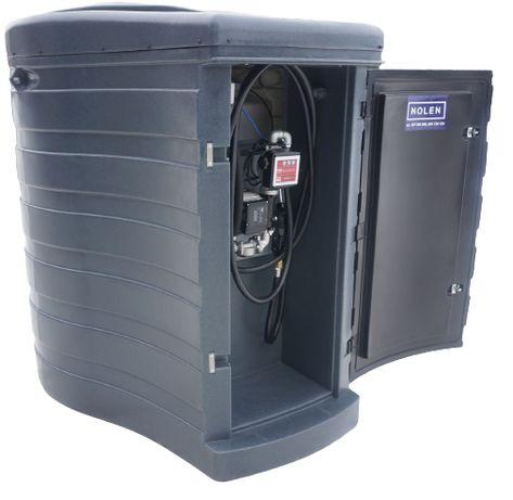 Zbiornik dwupłaszczowy na paliwo 1500L olej napędowy MX