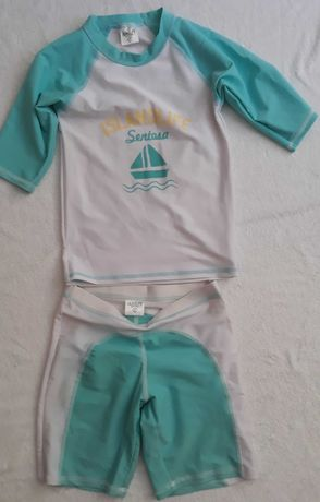 Костюм для плаванья (рашгард) на девочку/мальчика 8-10лет