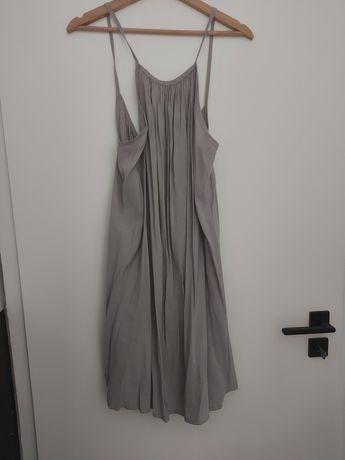 Szara sukienka Simplicite The Odder Side