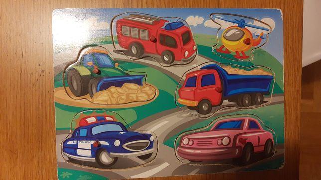 Układanki drewniane puzzle