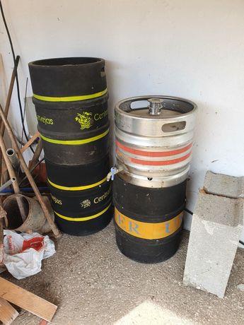 Depósitos inox cerveja